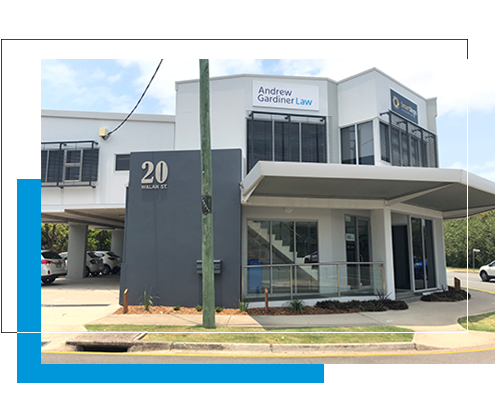 Image of Andrew Gardiner Law Maroochydore office front.