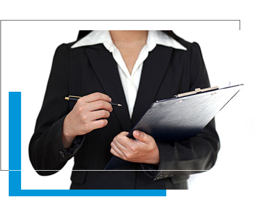 Image of lawyer with business sale checklist questionnaire